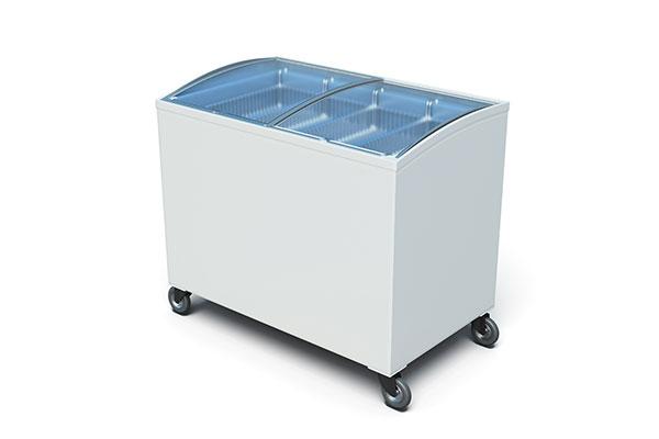 горизонтальная морозильная камера